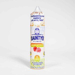 Eco Vape Dainty's Ice Sour Attack 50ml 70/30 Shortfill