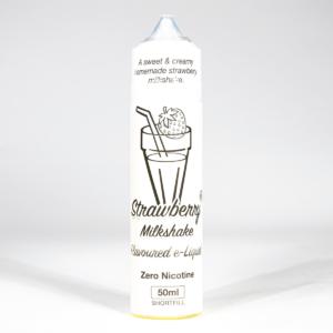 Eco Vape Milkshake Range Strawberry Milkshake 50ml shortfill 75/25