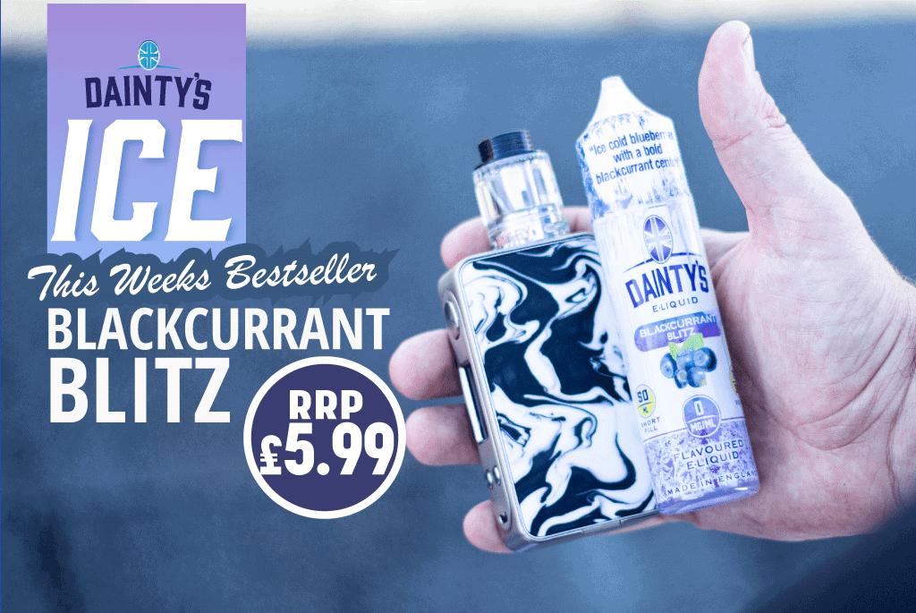 This week's bestselling liquid Blackcurrant Blitz