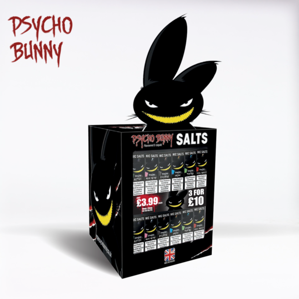 Psycho Bunny POS Stand