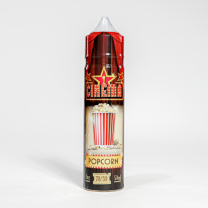 Eco vape Cinema Range Popcorn Flavour 50ml Shortfill
