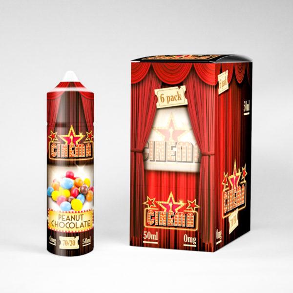 cinema 6pcs CDU peanut chocolate