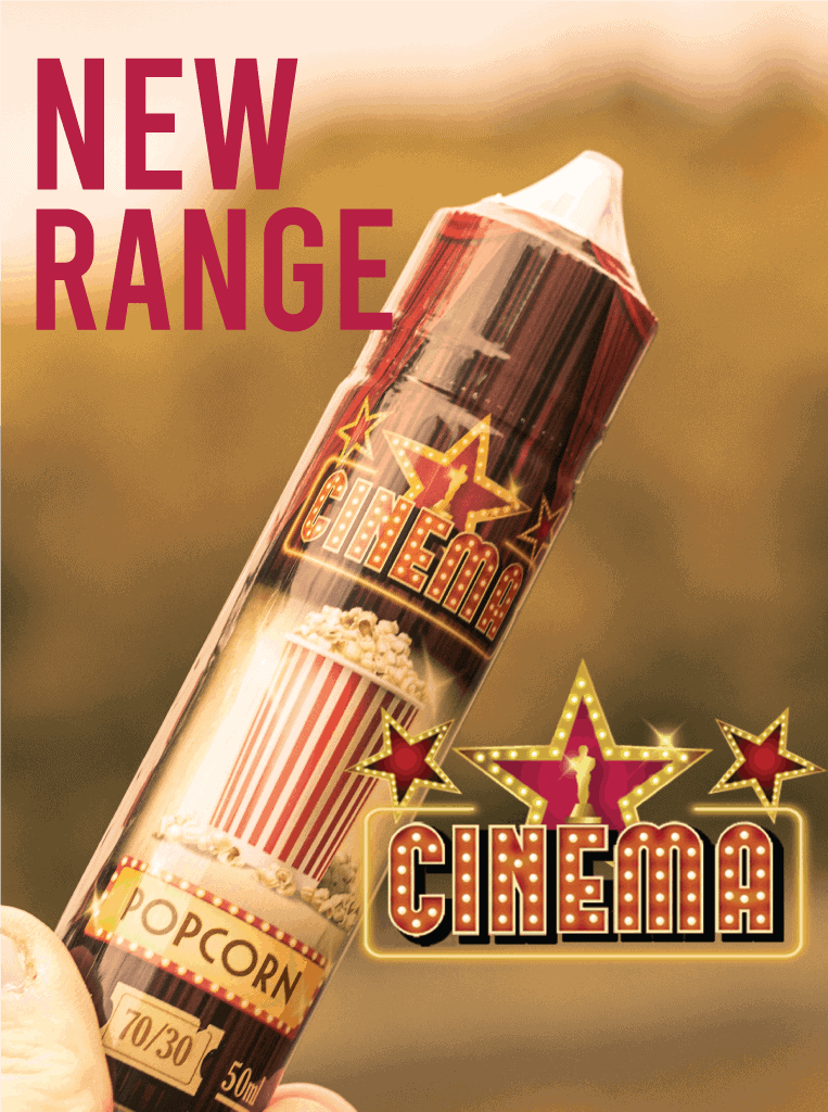 NEW Cinema Range E-Liquids