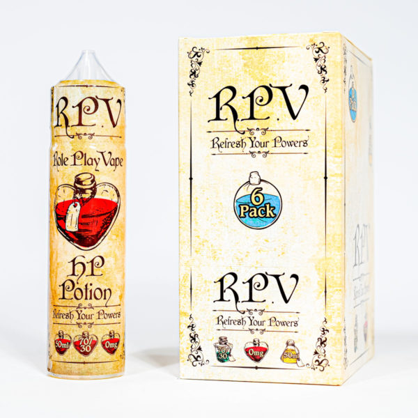 Eco Vape RPV Range HP Potion 50ml 70/30 Shortfill