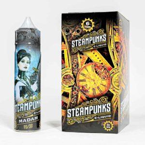 Eco vape Steampunk range Baroness Flavour 50ml Shortfill