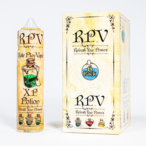 Eco Vape RPV Range XP Potion 50ml 70/30 Shortfill