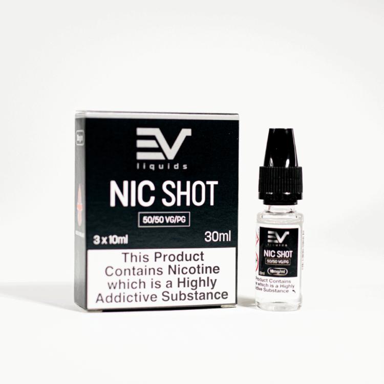 Eco Vape 50/50 Base Nic Shot