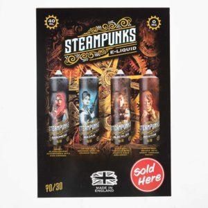 Steampunk 50ml A3 Poster