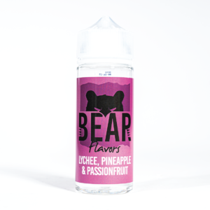 Lychee, Pineapple & Passionfruit BEAR Flavors 100ml