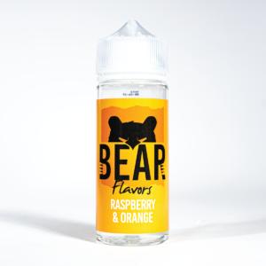 Rasberry & Orange BEAR Flavors 100ml