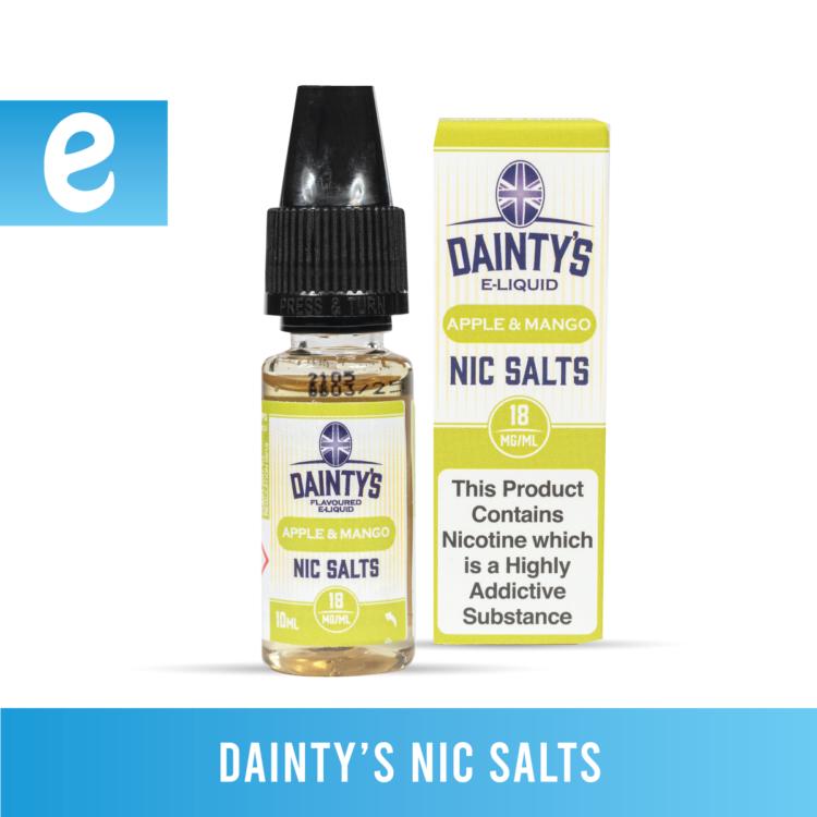 daintys nic salts bundle