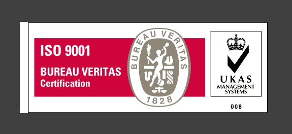 BV ISO 9001-UKAS