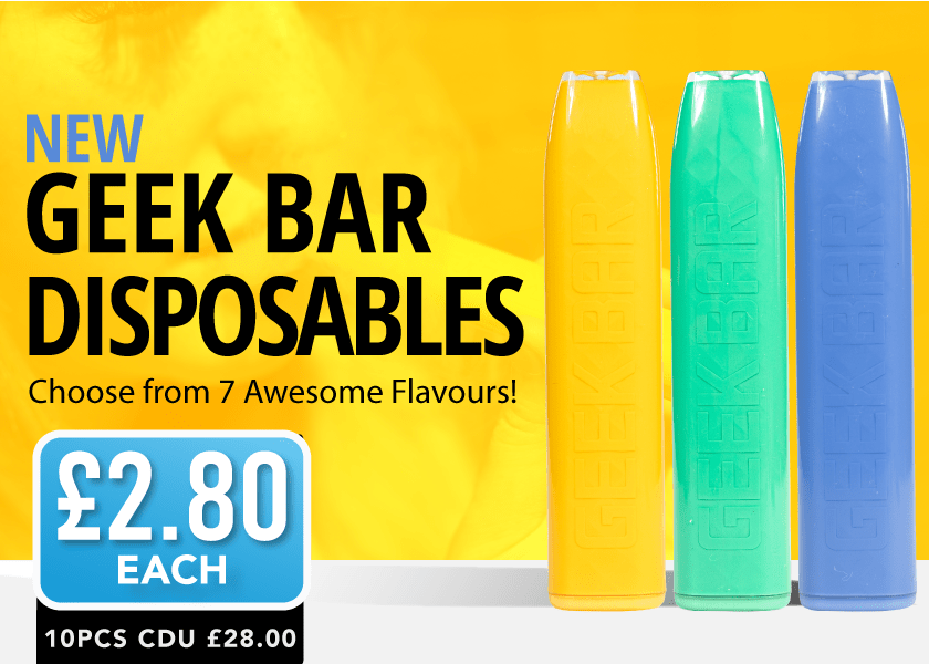Geekbars available now
