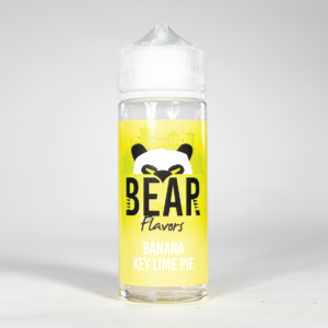 Eco Vape Bear Flavors Panda Range Banana Key Lime Pie 100ml 70/30