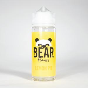 Eco Vape Bear Flavors Panda Range Lemon Pie 100ml 70/30