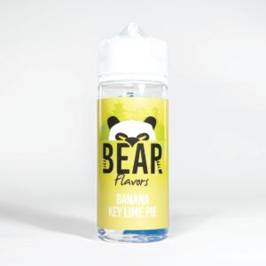 Eco Vape Bear Panda Banana Keylime Pie 100ml White Background