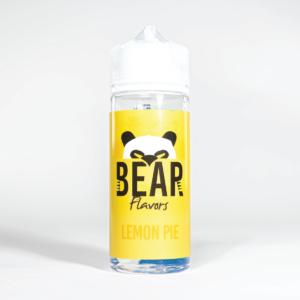 Eco Vape Bear Panda Lemon Pie 100ml White Background
