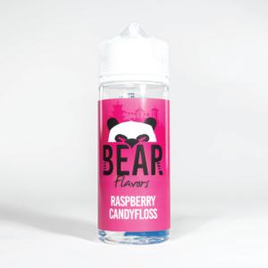 Eco Vape Bear Panda Raspberry Candyfloss 100ml White Background
