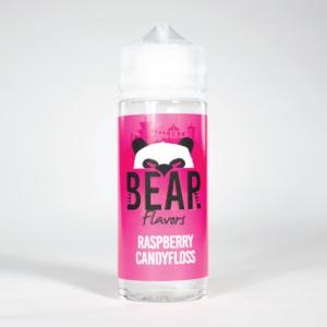 Eco Vape Bear Flavors Panda Range Raspberry Candyfloss 100ml 70/30