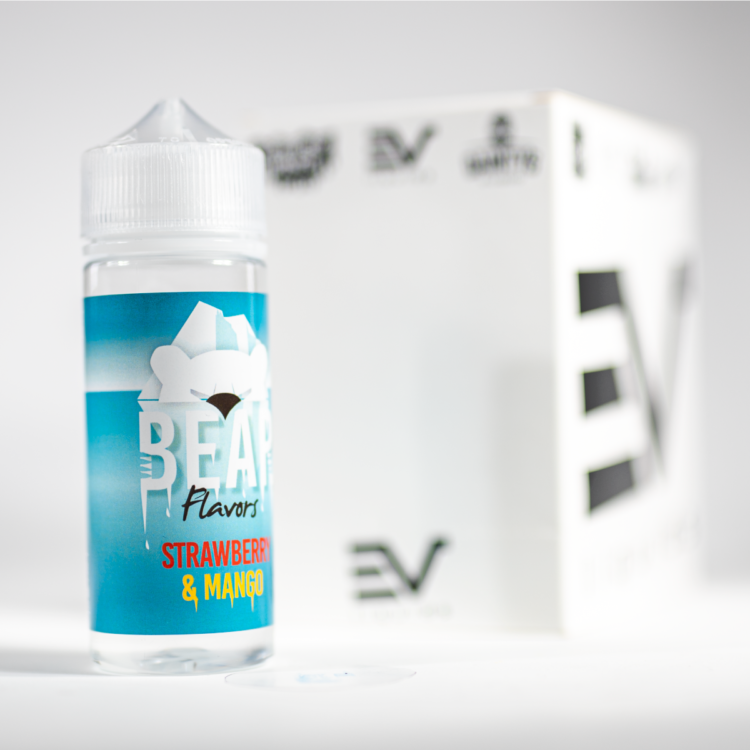 Bear flavours strawberry and mango