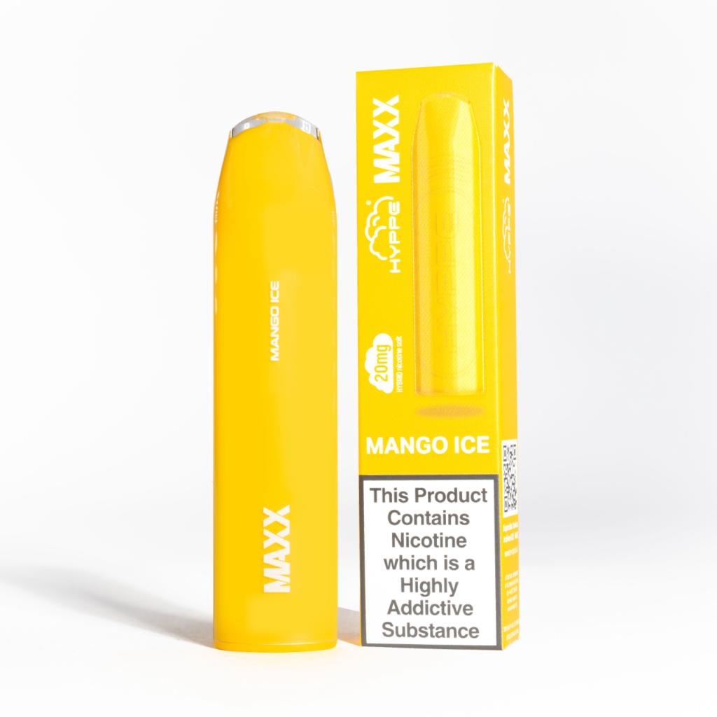 hyppe maxx disposable mango ice